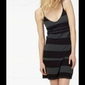 James Perse Grey/Black Dress